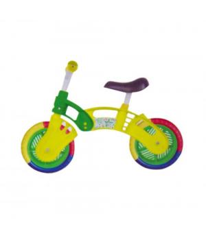 """Беговел для самых маленьких, """"10"""" от 2-4 лет (желто-зеленый), Star Bike"""
