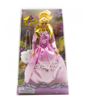 """Детская Кукла """"Defa Lucy"""" с сумкой (в розовом платье) 20997"""