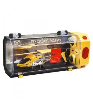 """Вертолет на радиоуправлении """"Model King"""" (желтый) 33008"""