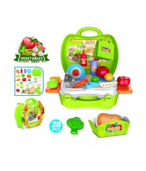 """Игровой набор """"Овощи"""" в чемоданчике 8349A"""