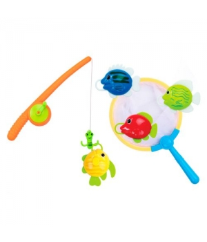 Игрушка рыбалка для ванной, Bebelino