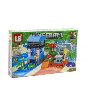 "Конструктор ""Minecraft: зомби"", 140 дет CB505-1"