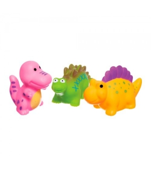 """Набор игрушек для купания """"Динозаврики"""" (3 шт) 58128"""