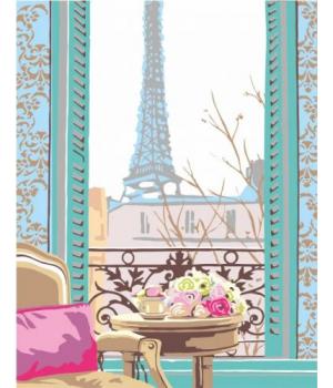 "Картина по номерам ""Завтрак в Париже"" ★★☆ N0001350 35х45 см"
