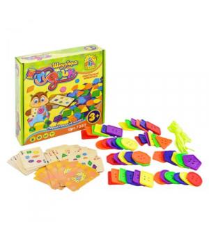 Игрушка игра-шнуровка Пуговица, Fun Game