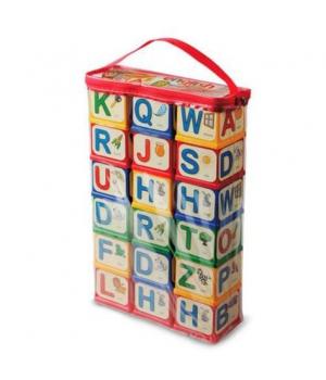 """Детские пластиковые кубики, английский алфавит, """"English Alphabet"""", 18 шт 1054, Юника"""