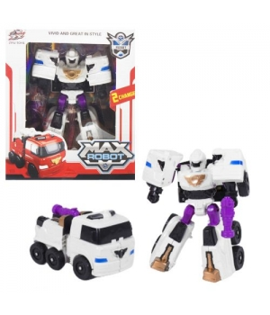 """Трансформер """"Max Robot"""", белый L015-33"""