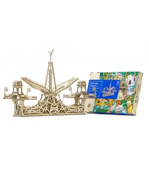"""Игрушечный деревянный конструктор """"Пешеходный мост"""", 229 эл 10006"""