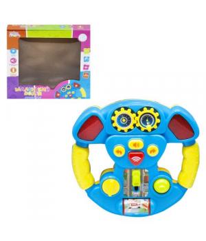 Интерактивный руль синий UKA-A0109