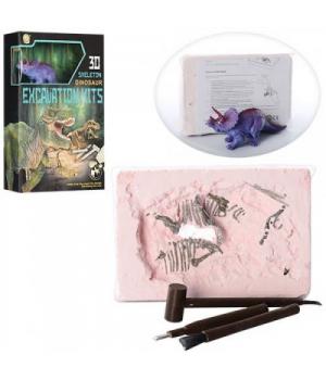 """Игровой набор """"Раскопки динозавра: Трицератопс"""" 501B-504B"""