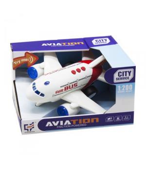 """Самолёт """"Aviation"""" со звуковыми и световыми эффектами A1114-3"""