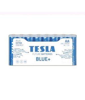 [AA BLUE+ 24M] Первинні елементи вугульно-цинкові з напругою 1,5В TESLA BATTERIES AA BLUE+ 24 MULTIPACK ( R06 / SHRINK 24 шт.)