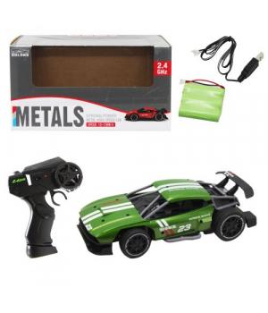 Машина на радиоуправлении зеленая SL216А