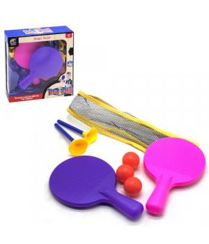 Набор детских рекеток для настольного тенниса, с сеткой, ZG270-49
