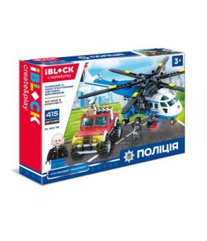 """Конструктор """"Полиция"""", 415 дет PL-920-118"""