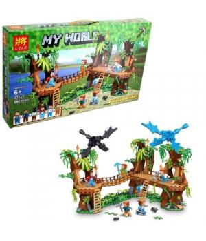 """Конструктор """"Minecraft: Джунгли"""", 686 дет 33127"""