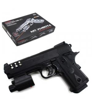 Пистолет игровой пластиковый на пульках 6мм, 507A