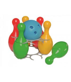 Набор для боулинга детский, (кегли и шар) 2919, ТехноК