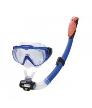 Детская подводная маска с трубкой, от 14лет, Intex