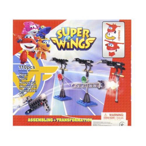 """Игрушка конструктор """"Super Wings - Супер Крылья"""", 110 дет 16112"""