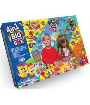 """Большой набор теста для лепки """"Big Creative Box"""" 4 в 1"""