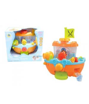 Игрушка в ванну для детей Кораблик