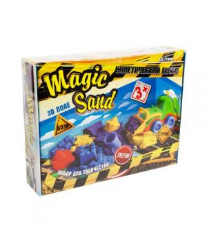 """Кинетический песок """"Magic Sand"""" с экскаватором 51201"""