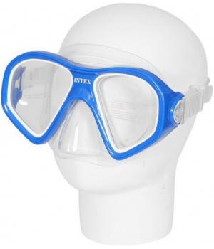 Детская маска для плавания от 14 лет, XXL, синий, 55977, Intex