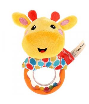 Мягкая игрушка погремушка Жирафчик GH73133