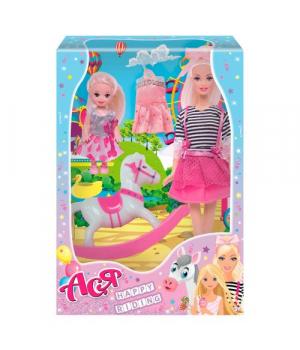 """Детская Кукла Ася """"Happy Riding"""" с аксессуарами 35104"""