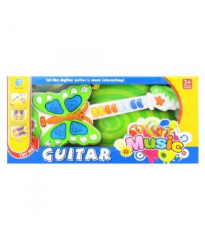 """Детская гитара """"Бабочка"""" 663C"""