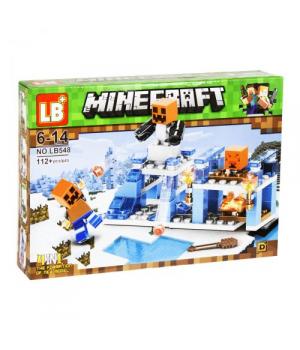 "Конструктор ""Minecraft"" ""Снеговик"" Е272"
