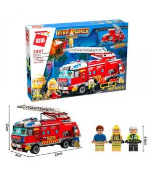 """Конструктор """"BRICK. Пожарная машина"""" (366 дет.) 2807"""