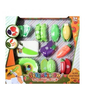 Игрушечные продукты на липучке Овощи