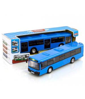 Автобус игрушка, инерционный, синий