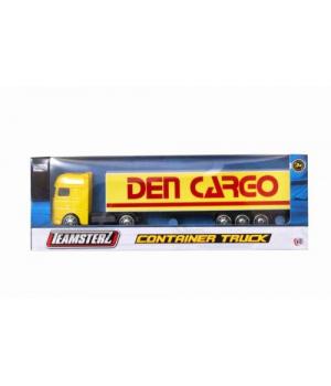 Іграшка вантажівка ДАФ, Контейнеровоз, (жовтий), 1377001