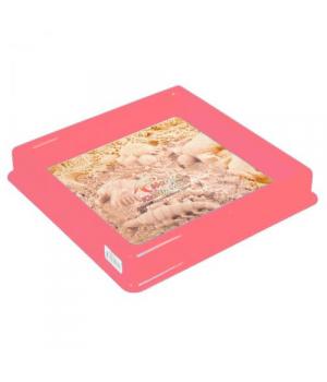 Песочница для кинетического песка (розовый) E KUM-015