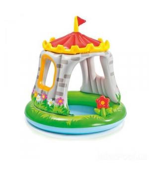 Детский надувной бассейн с навесом, Королевский дворец, Intex