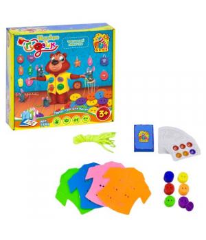 Настольная игра Шнуровка и пуговица, Fun Game