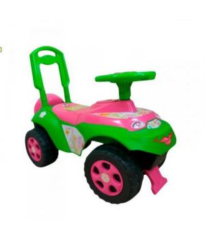 Машинка-каталка толокар с рулем музыкальная, (рус.озвучка), Doloni Toys