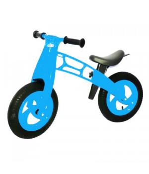 Беговел для детей от 3 лет, голубой, Cross Bike