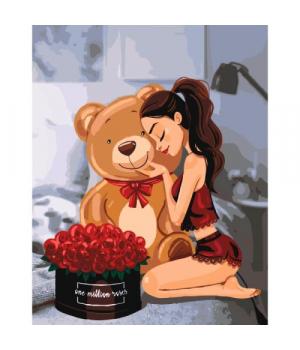 "Картина по номерам ""One million roses"" ★★★ КНО4606"