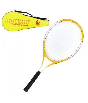Детская ракетка для тенниса, (желтая), 67x28, C34532
