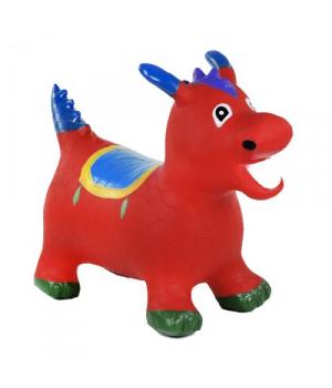 Детский прыгун резиновый, красный, C37883/C7883