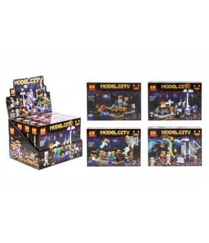 """Конструктор """"Minecraft. Model City"""", набор 4 в 1 20032"""