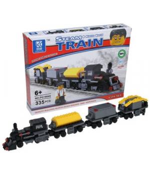 Конструктор игрушка Поезд, 335 деталей, Mindbox