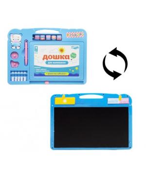 """Детская доска для рисования """"Smart Board"""", голубой PL-7018"""