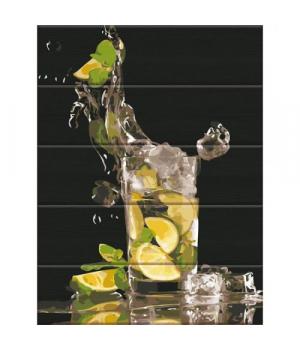 """Картина по номерам на дереве """"Лимонад"""" ASW115 40х30 см"""