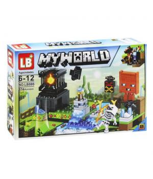 """Конструктор """"Minecraft"""", B, 174+ дет 595"""