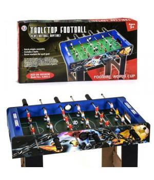 82578 [XJ803-2] Футбол XJ 803-2 (4) деревянный, напольный, на штангах, в коробке [Коробка]